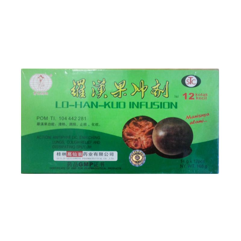 Lo Han Kuo Box @ 12 kotak kecil @ 14 gr [KESEHATAN]
