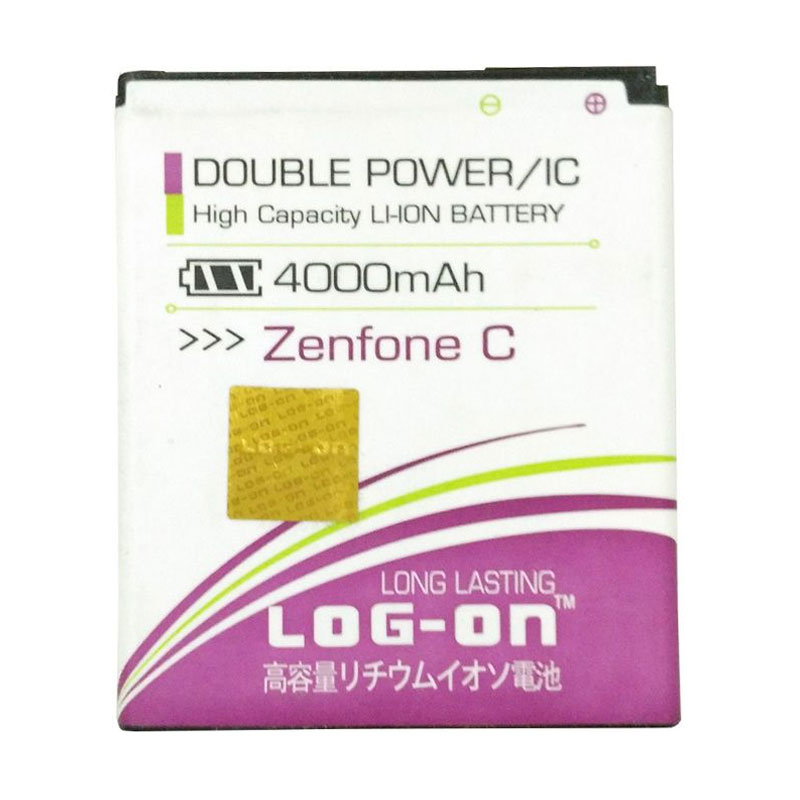 Log On Double Power Batery for Asus Zenfone C [4000 mAh]