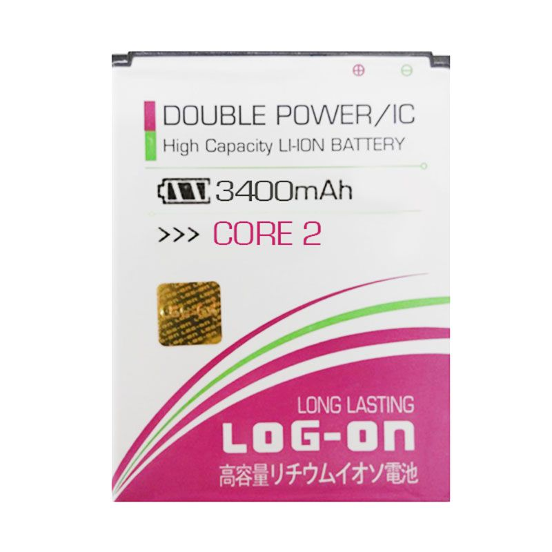 Log On Battery For Samsung Galaxy Core 2 G355H [3400mAh]