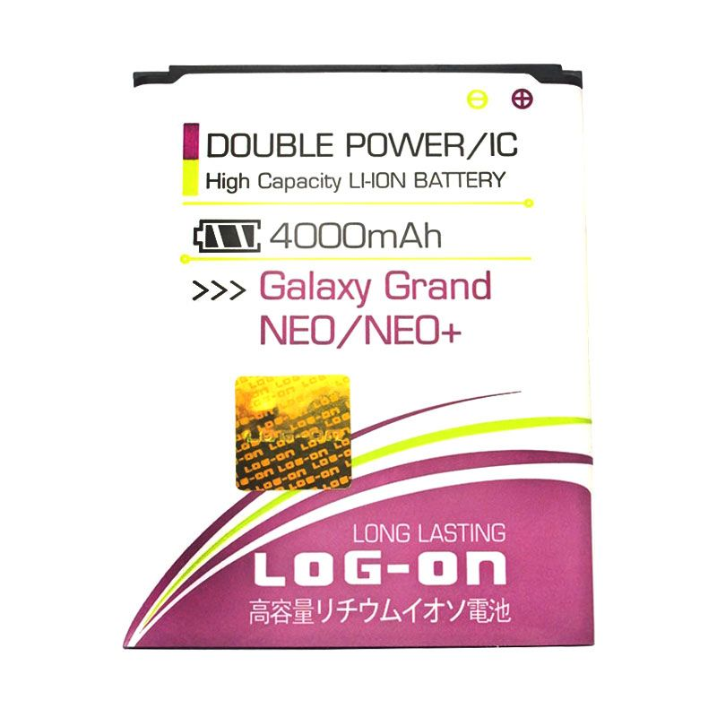 Log On Battery For Samsung Galaxy Grand NEO GT-i9060 / NEO+ GT-i9060i [4000 mAh]