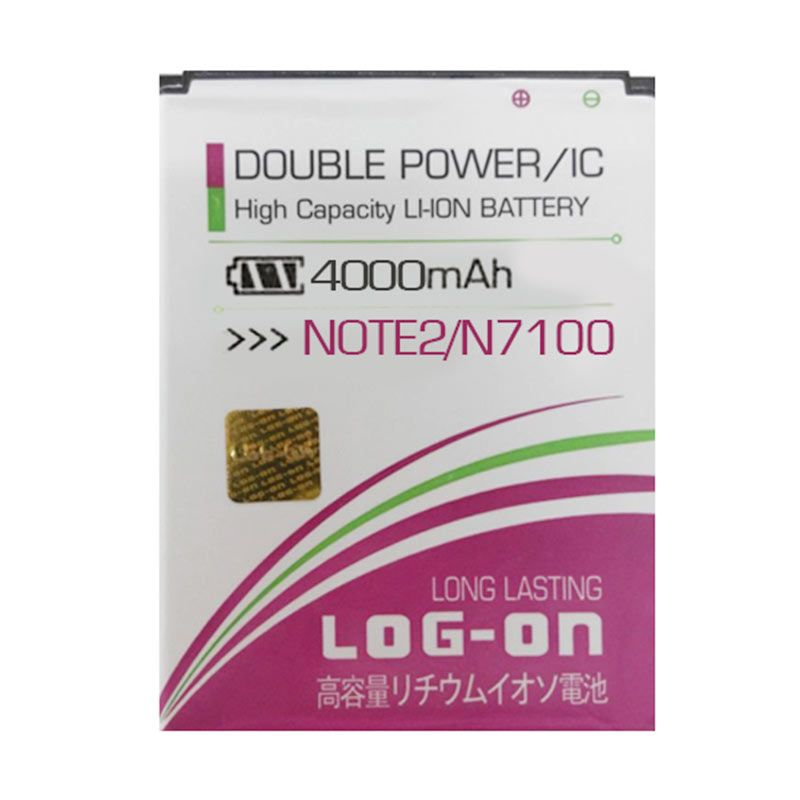 Log On Battery for Samsung Galaxy Note 2 N7100