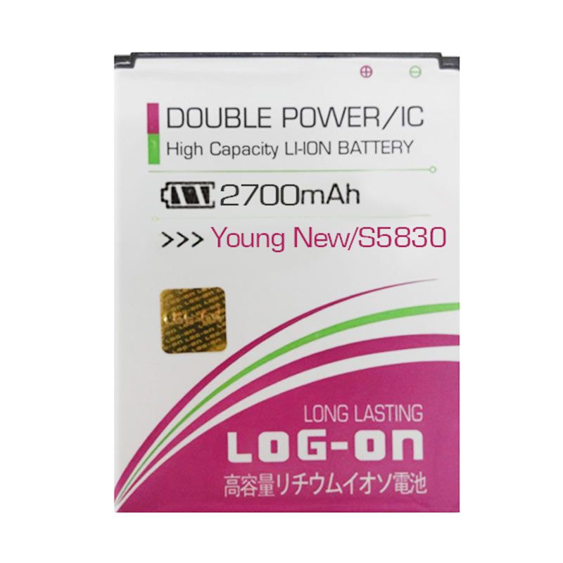 Log On Battery For Samsung Galaxy Young New S5830 [2700mAh]