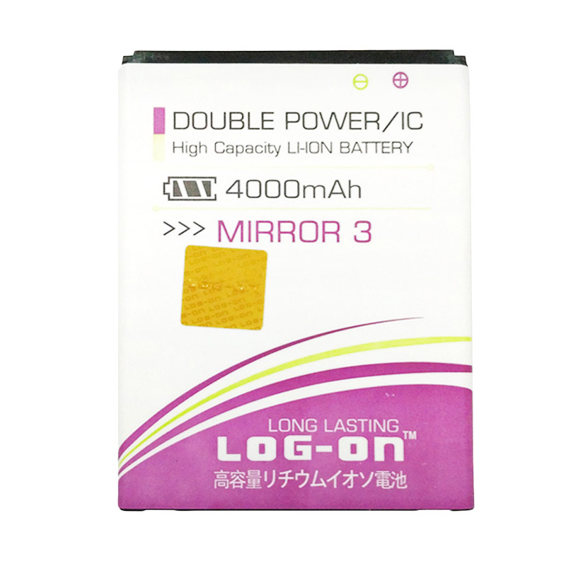 Log On Double Power Batery for Oppo Mirror 3 [4000 mAh]