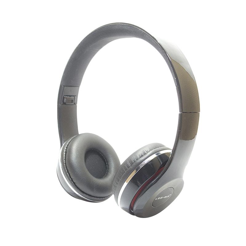 harga Log On LO-NB-B80 Bando Headset - Hitam Blibli.com