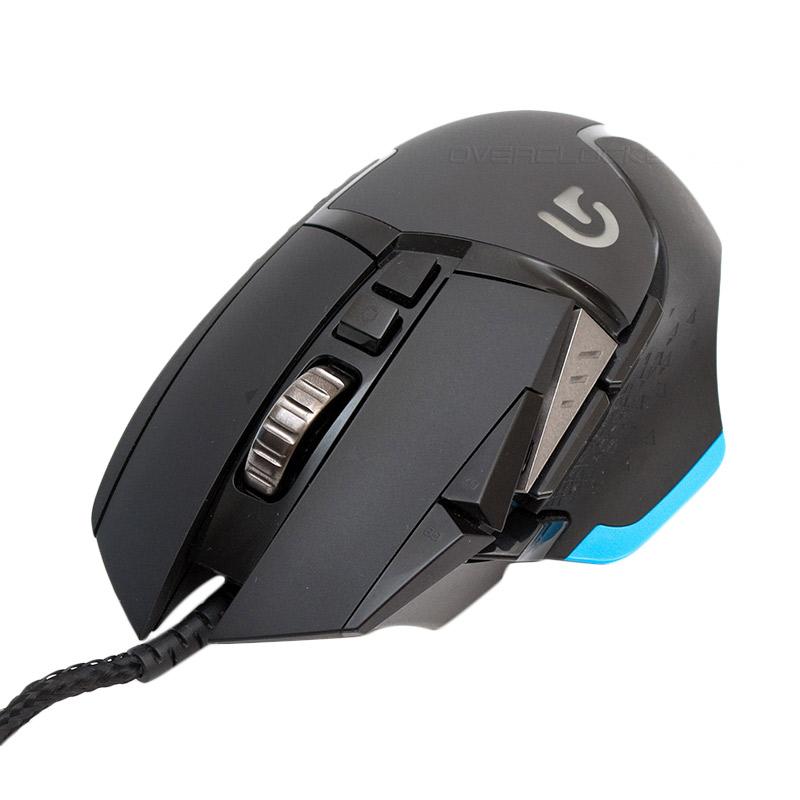 Logitech G502 Proteus Core Hitam Gaming Mouse