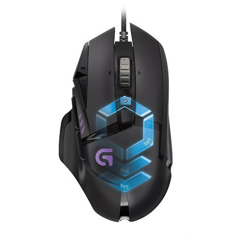 Logitech G502 Proteus Spectrum Gaming Mouse [910-004633]