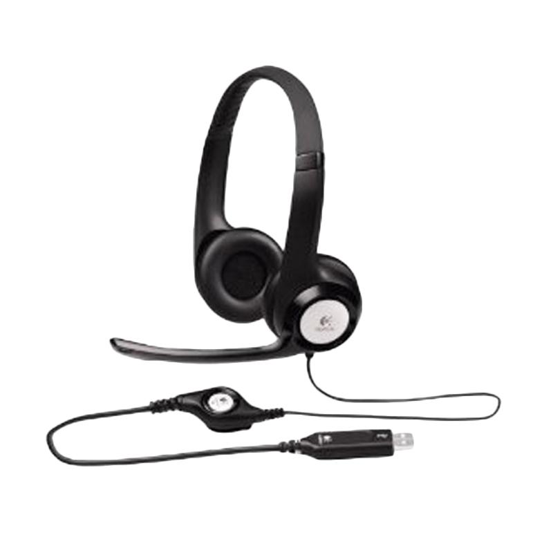 harga Logitech H390 USB Headset - Hitam Blibli.com