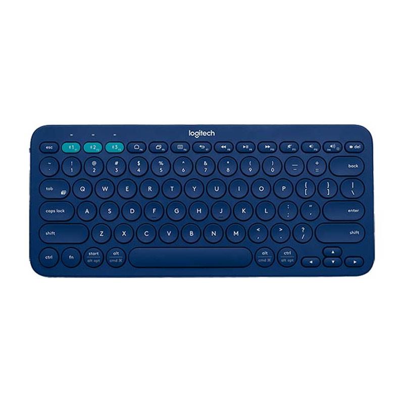 Logitech K380 Multi Device Blue Bluetooth Keyboard [920-007597]