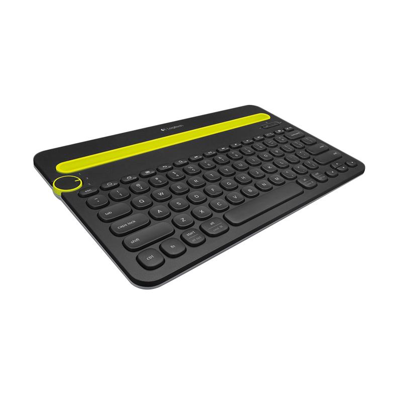 Logitech K480 Multi-Device Bluetooth Keyboard - Black [Garansi Resmi]