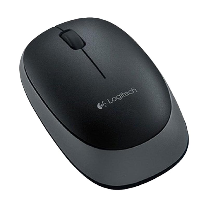 harga Logitech M165 Black Wireless Mouse - Hitam Blibli.com