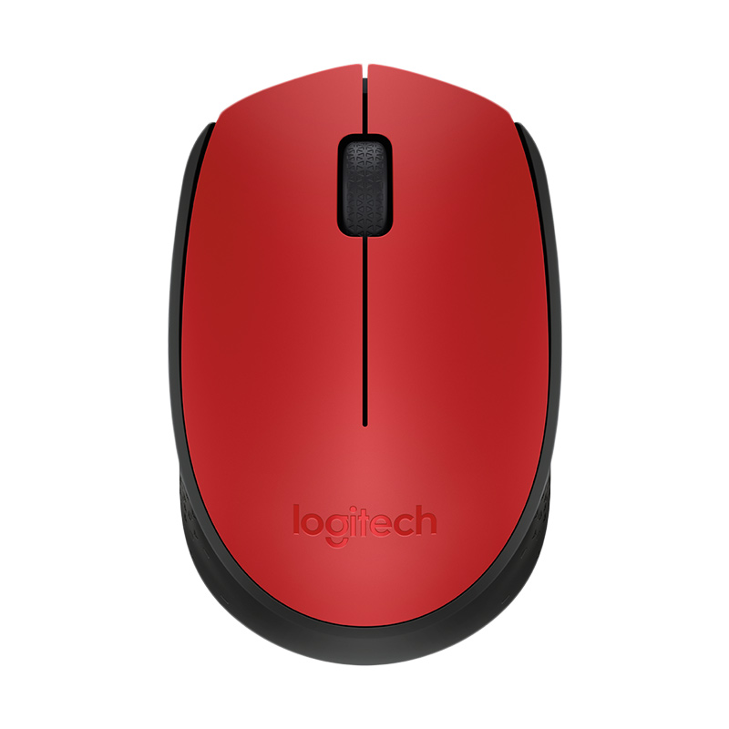 Logitech M171 Red Wireless Mouse