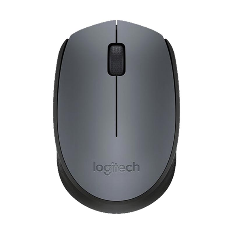 Logitech M171 Black Grey Wireless Mouse