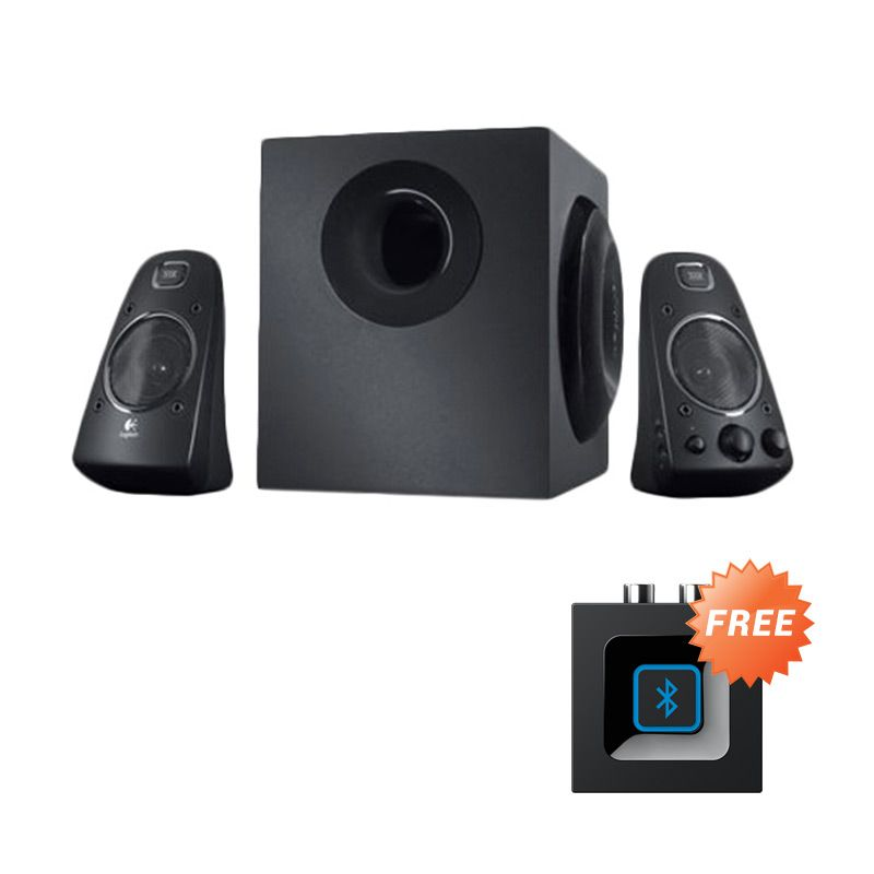 Jual Logitech THX System Z623 200Watt 2.1 Speaker [980