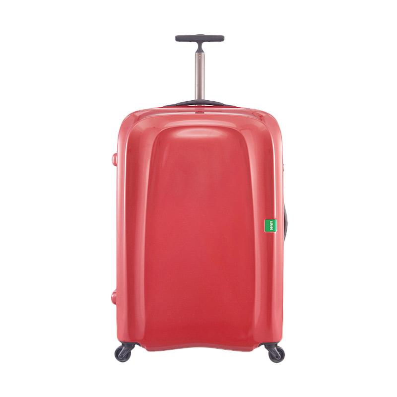 Lojel Lumo Koper Hardcase Extra Ringan Large - Red