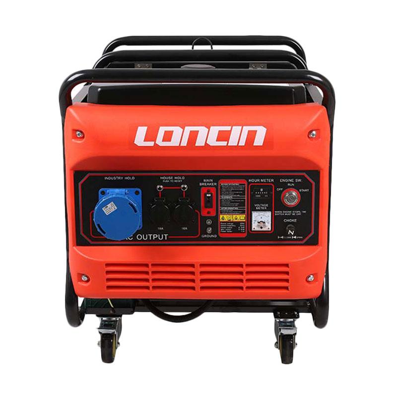 LONCIN Lc 12800 Generator Set Bensin Loncin Genset [1 Phase/9500 W]