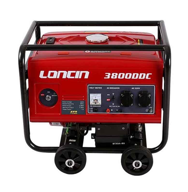 Loncin LC 3800-DDC Generator Set Bensin [2200 Watt]
