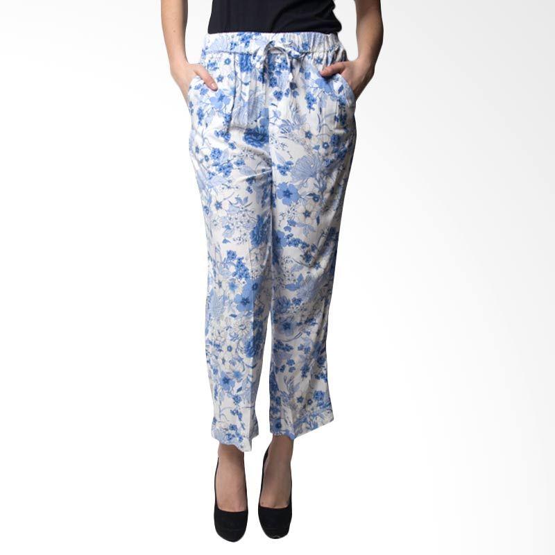Loony Blue Prints Celana Panjang Wanita
