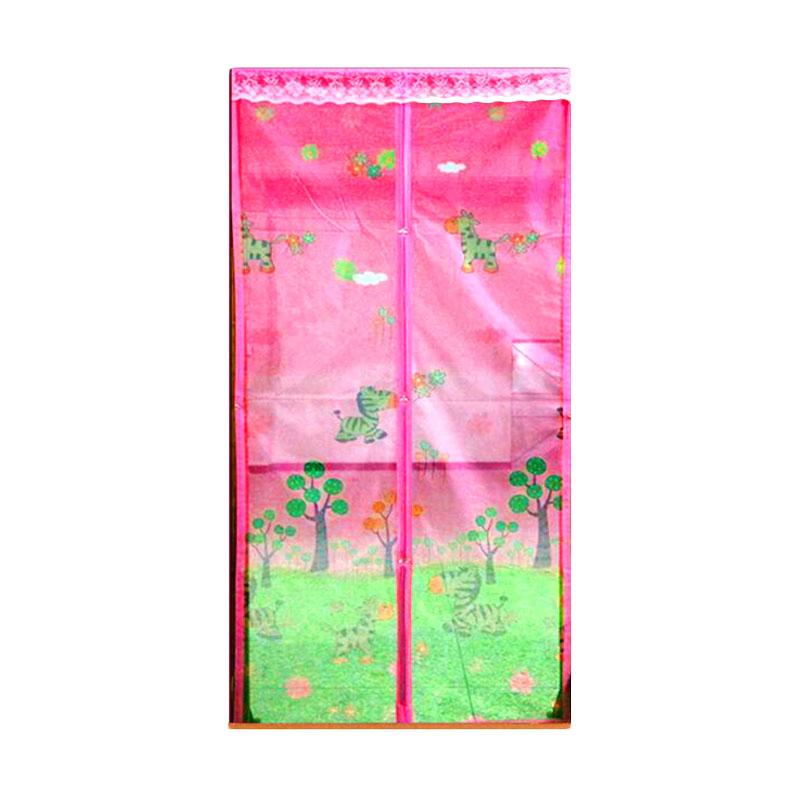 harga Lotusshops Baby Zebra Press Tirai Pintu Magnet - Pink Blibli.com