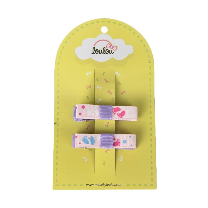 Loulou Clips JPS-1 Pink Footstep