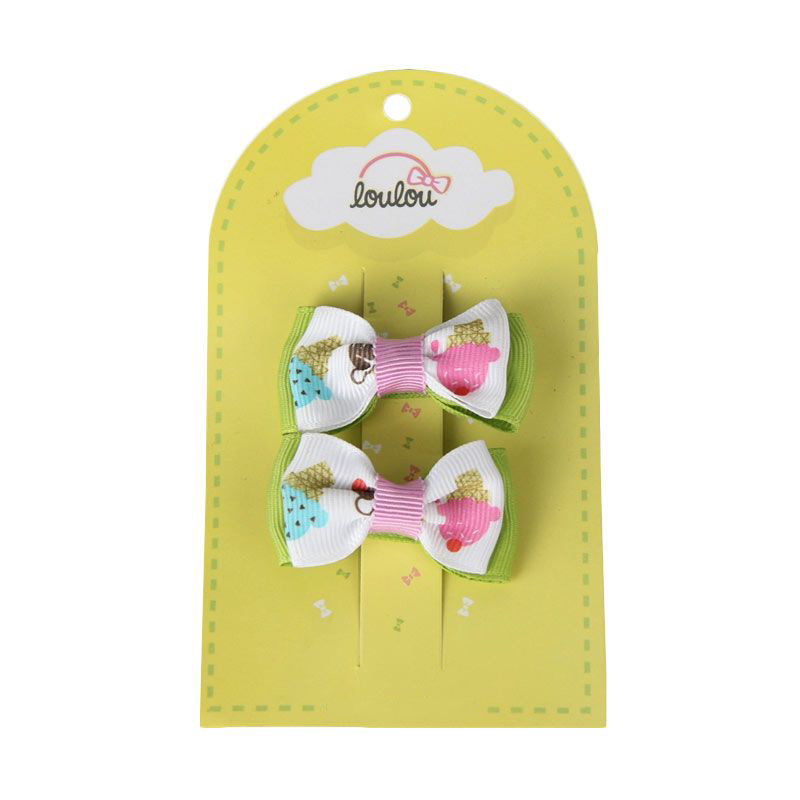 Loulou Clips JSD-2 White Ice Cream