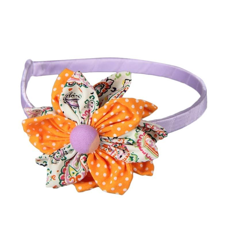 Loulou Headbands BBDT Orange Purple