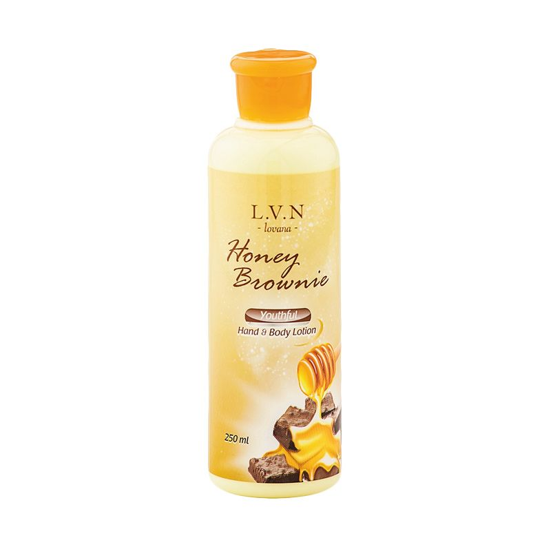 Lovana Hand & Body Honey Brownie Wanita [250 mL]