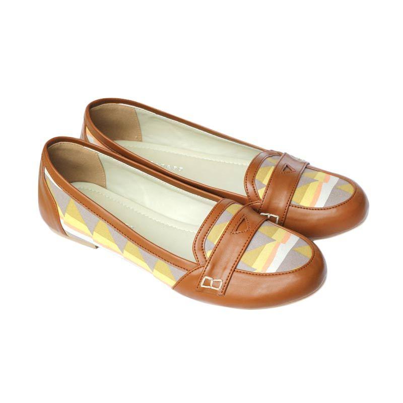 Loveliness Artura Flat Shoes Camel
