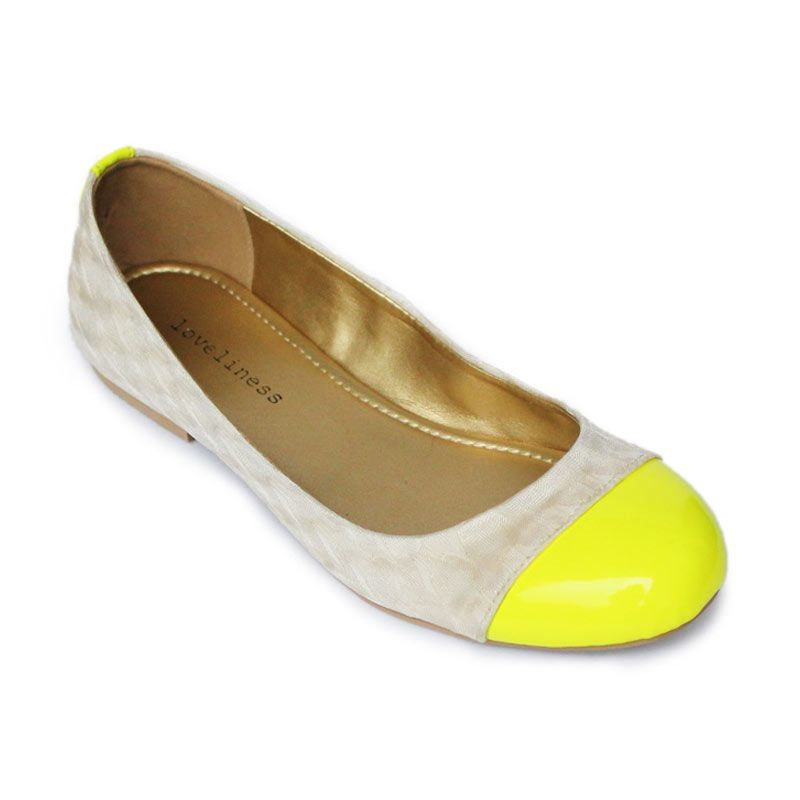 Loveliness Shoes Gia Yellow Neon