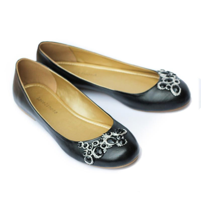 Loveliness Shoes Valora Black