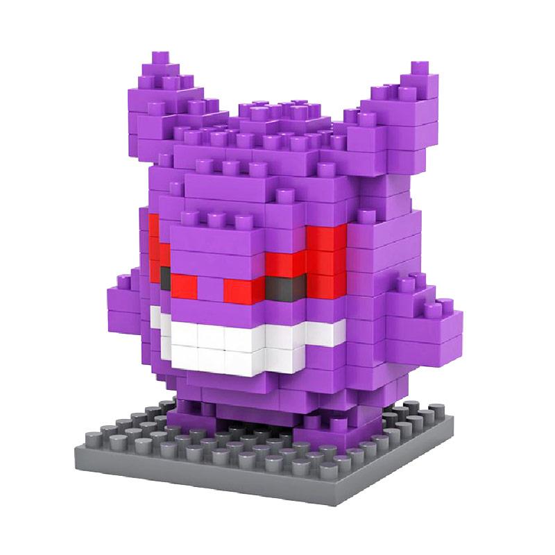 Loz 9138 Gengar Pokemon Mainan Blok & Puzzle