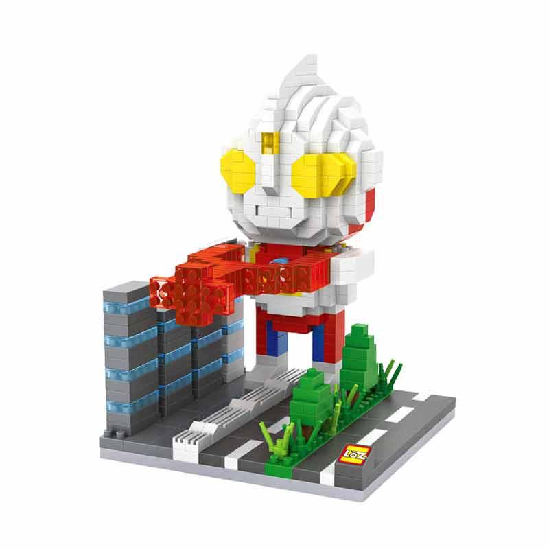 Loz Gift XL 9640 Ultramen Tiga Mainan Blok & Puzzle