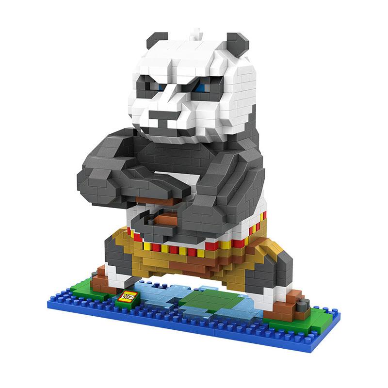 LOZ Gift XXL 9712 Po Kungfu Panda Mainan Block & Puzzle