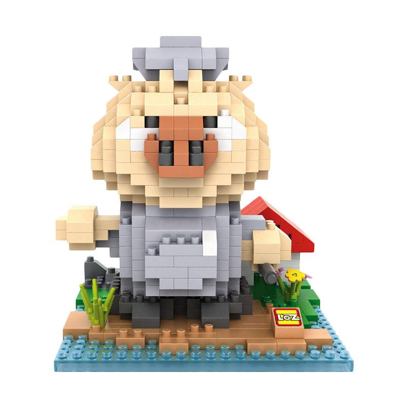 Loz Blocks 9846 Piyoz Mashimaro Mainan Blok & Puzzle