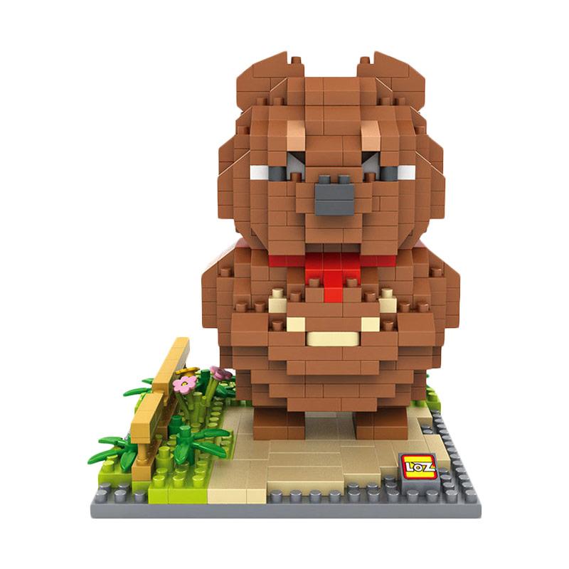 Loz Blocks 9848 Boogalo Mashimaro Mainan Blok & Puzzle