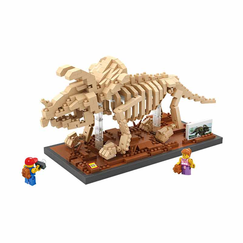 Loz 9025 Triceratops Mainan Blok & Puzzle