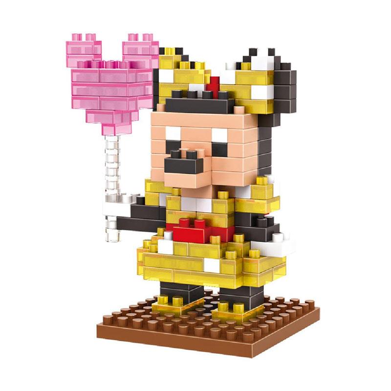 Loz 9175 Queen Minnie Mainan Blok and Puzzle