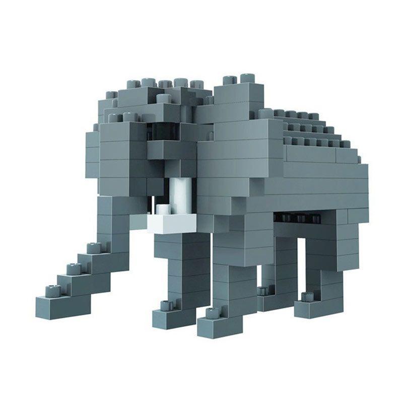 LOZ 9320 Elephant Diamond Block