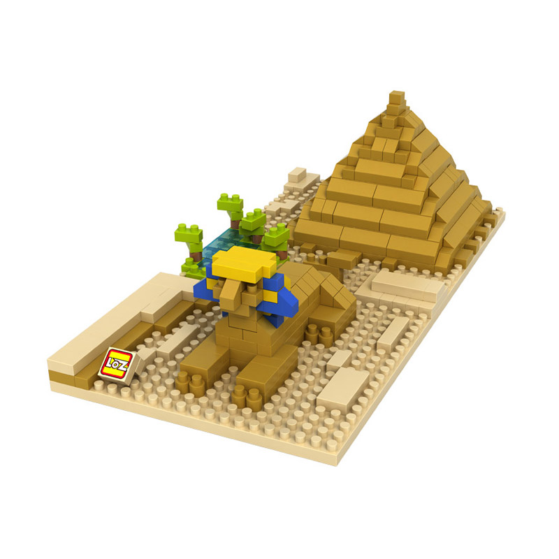 Loz Sphinx and Pyramid 9376 Mainan Blok dan Puzzle