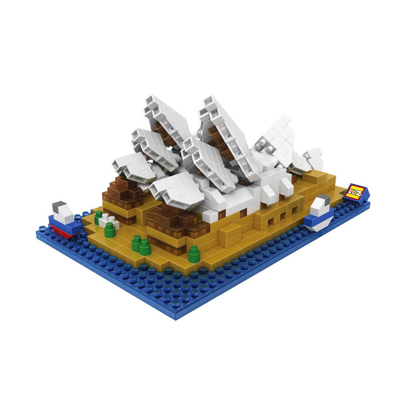 Loz Sydney Opera House 9379 Mainan Blok dan Puzzle