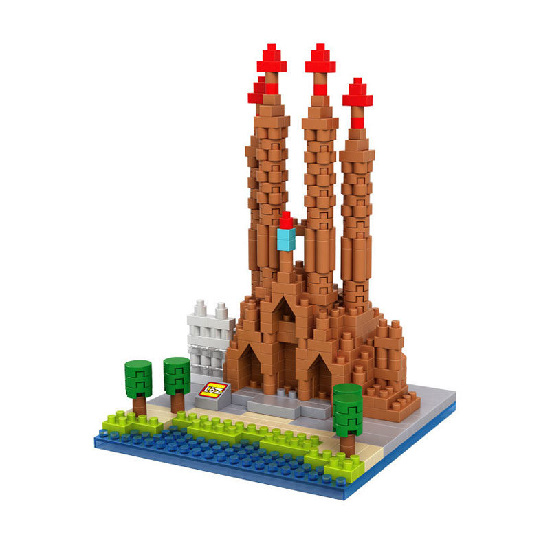 Loz Sagrada Familia 9382 Mainan Blok dan Puzzle