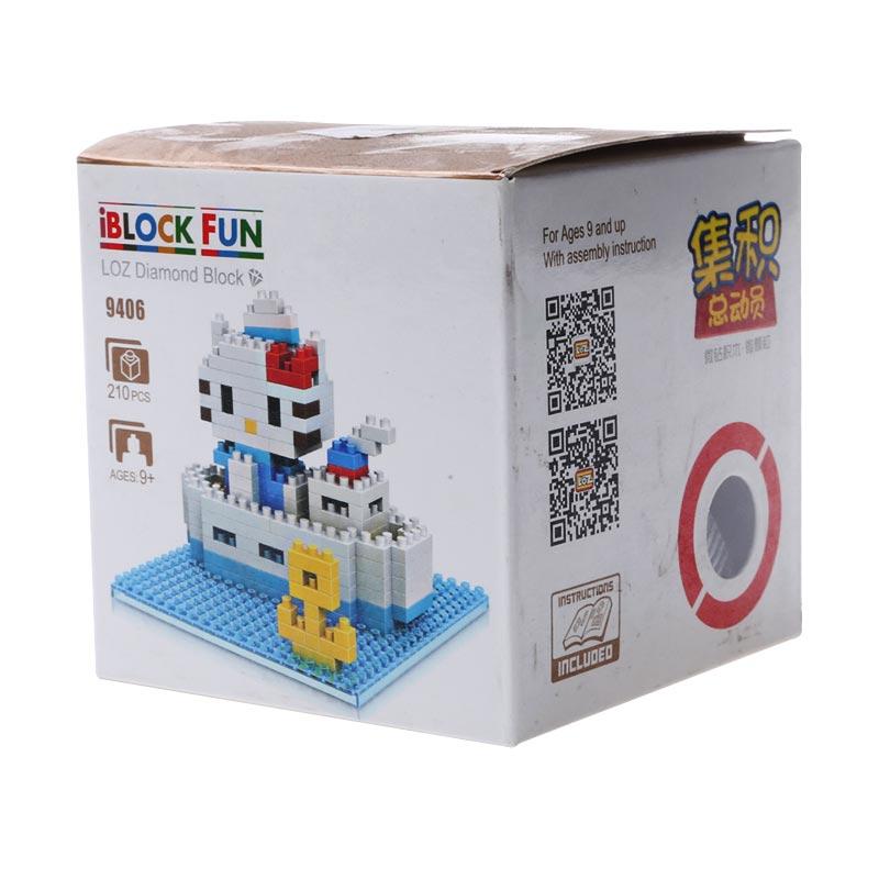 LOZ 9406 Hello Kitty Diamond Block