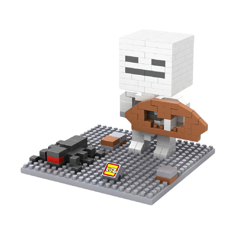 Loz 9473 Minecraft Bone Mainan blok dan Puzzle