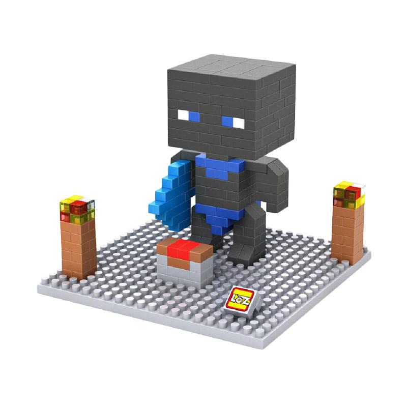 Loz 9474 Minecraft Enderman Mainan blok dan Puzzle