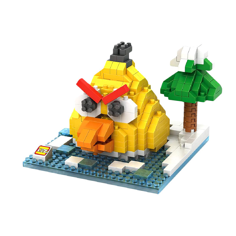Loz 9513 Angry Bird Yellow Mainan Blok & Puzzle