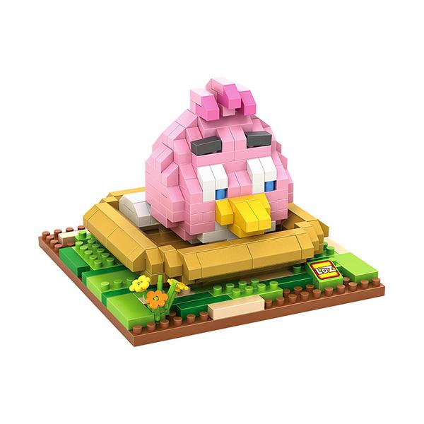 Loz 9517 Angry Bird Pink