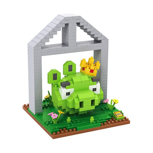 Loz 9519 Angry Bird King Pig