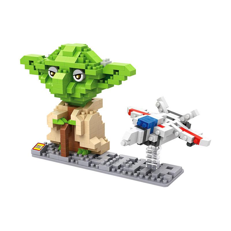 Loz 9530 Yoda Star Wars Mainan Blok and Puzzle