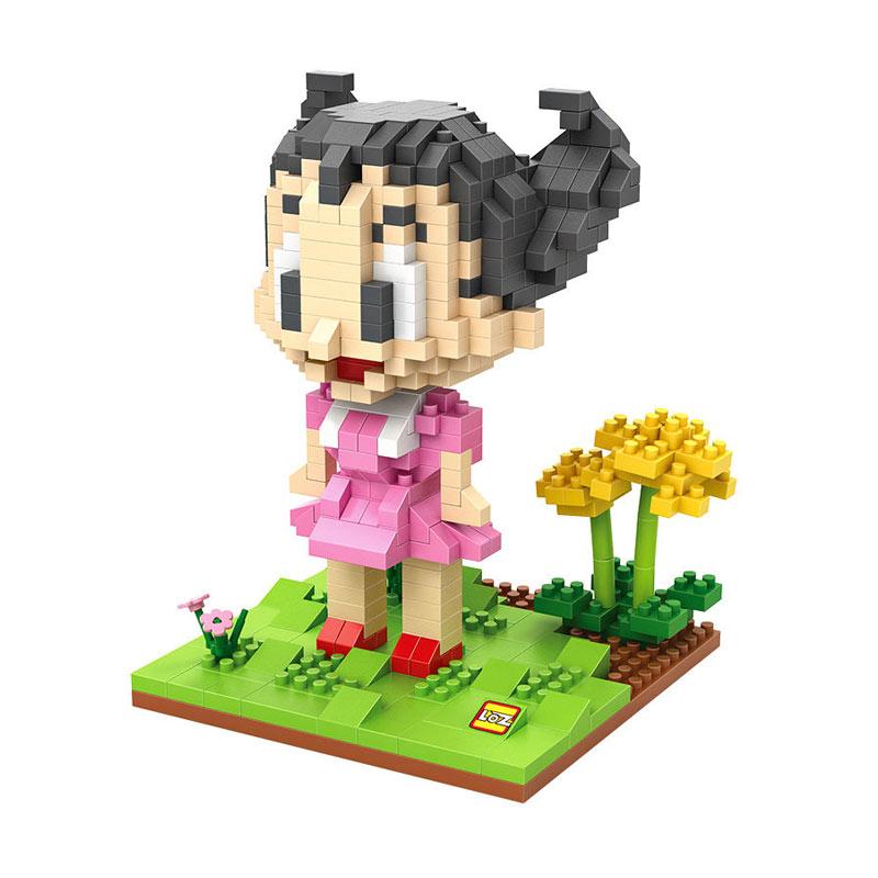 Loz Uron Astro Girl 9626 Mainan Blok dan Puzzle