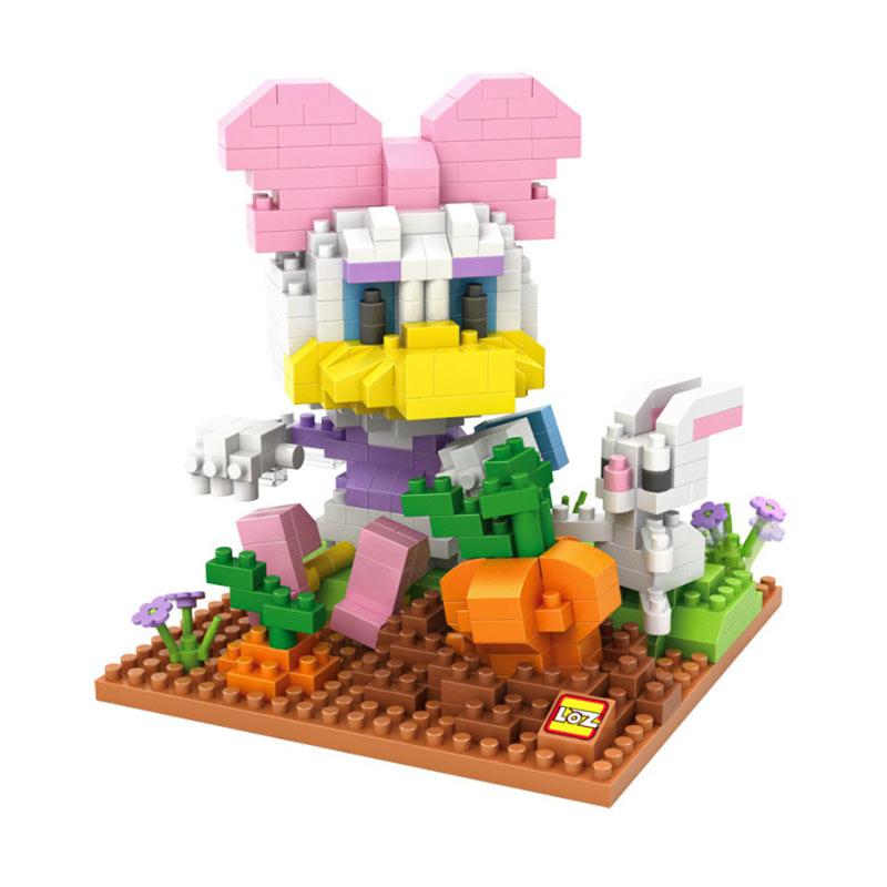 Loz 9636 Daisy Farming Mainan Block & Puzzle