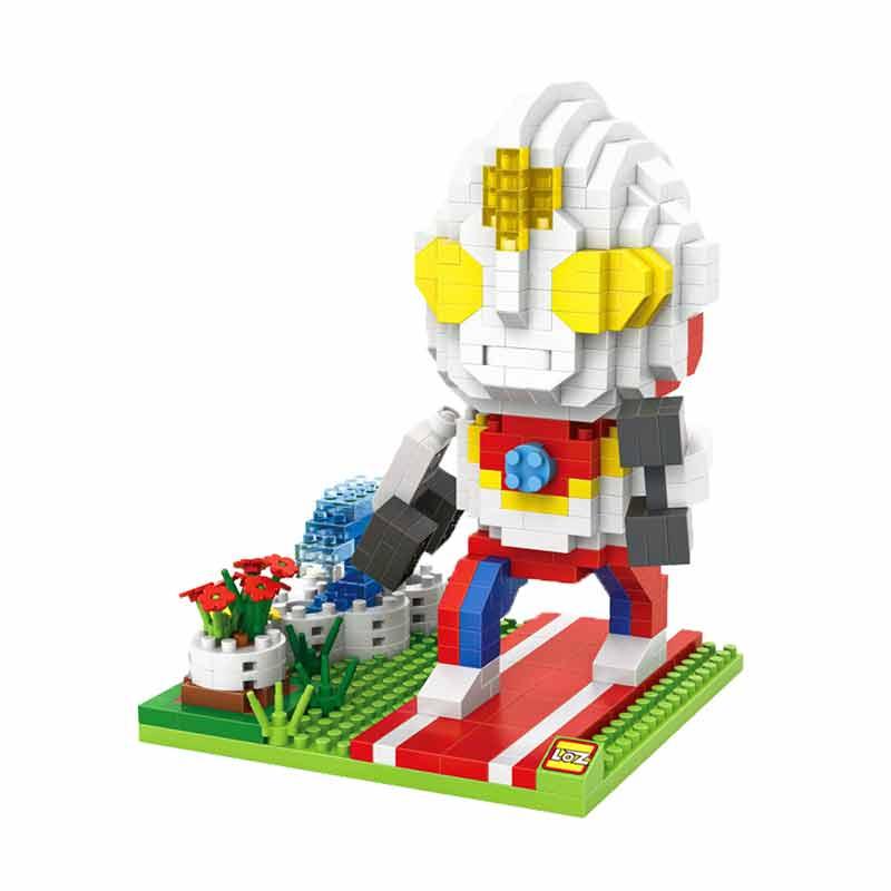 Loz 9642 Gift XL Ultramen Dyna Mainan Blok & Puzzle